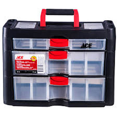 STORAGE CABINET 3 DRAWERS PLAST